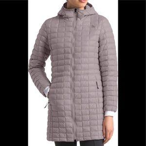 Women's lavender purple north face puffer jacket